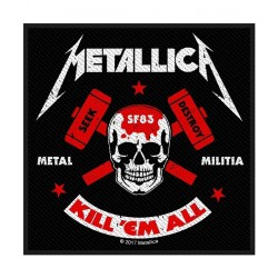 Metallica - Metal Militia - Patch