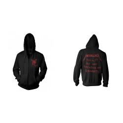 Metallica - No Regrets - Hooded Sweat Shirt Zip (Men)
