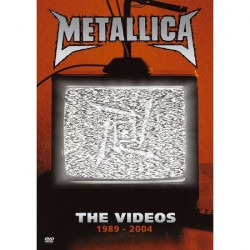 Metallica - The Videos 1989-2004 - DVD