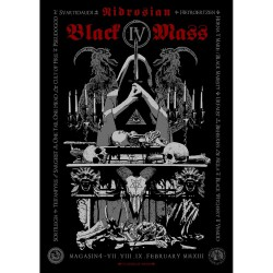 Mgla / Urfaust / Black Witchery / Svartidaudi - Nidrosian Black Mass - Silkscreen
