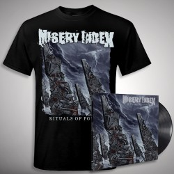 Misery Index - Bundle 7 - LP gatefold + T-shirt bundle (Men)