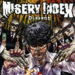 Misery Index - Dissent - CD EP