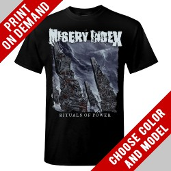 Misery Index - Rituals Of Power - Print on demand