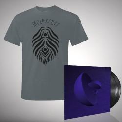 Molassess - Bundle 3 - Double LP gatefold + T-shirt bundle (Men)