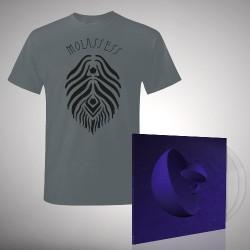Molassess - Bundle 5 - DOUBLE LP GATEFOLD COLOURED + T-SHIRT bundle (Men)