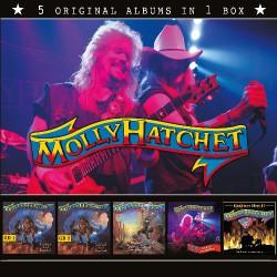 Molly Hatchet - 5 Original Albums In 1 Box - 5CD BOX