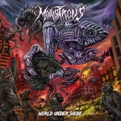 Monstrous - World Under Siege - CD