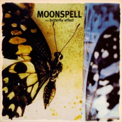 "Moonspell - The Butterfly Effect - LP gatefold coloured  + 7"" coloured"