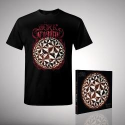Mörk Gryning - Bundle 1 - CD DIGIPAK + T-shirt bundle (Men)