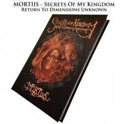 Mortiis - Secrets Of My Kingdom : Return To Dimensions Unknown - BOOK