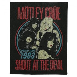 Mötley Crüe - Shout At The Devil - BACKPATCH