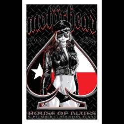 Motorhead - Houston Show - TX Version - Giclée