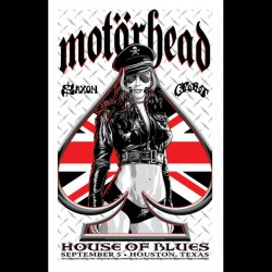 Motorhead - Houston Show - UK Version - Giclée