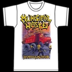 Municipal Waste - Hazardous mutation (White) - T-shirt (Men)