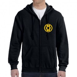 Municipal Waste - Logo Reaper - Hooded Sweat Shirt Zip (Men)