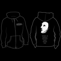 Mutiilation - What A Great Artist Die With Me - Hooded Sweat Shirt Zip (Men)