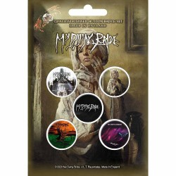 My Dying Bride - The Ghost Of Orion - BUTTON BADGE SET
