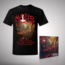 Mystifier - Bundle 1 - CD DIGIPAK + T-shirt bundle (Men)
