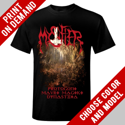 Mystifier - Protogoni Mavri Magiki Dynasteia - Print on demand