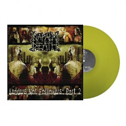 Napalm Death - Leaders Not Followers Pt. II - LP COLOURED
