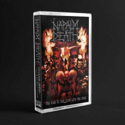 Napalm Death - The Code Is Red... Long Live The Code - CASSETTE