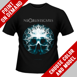 Ne Obliviscaris - Skull Glass - Print on demand