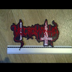 Necromantia - Logo - BACKPATCH