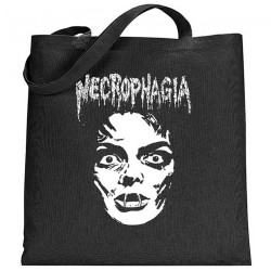 Necrophagia - Face - TOTE BAG