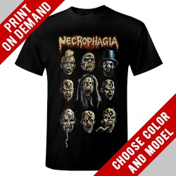 Necrophagia - Faces - Print on demand
