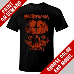 Necrophagia - Skull - Print on demand
