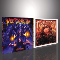 Necrophagia - WhiteWorm Cathedral + Deathtrip 69 - 2 x DIGIPAK CDs