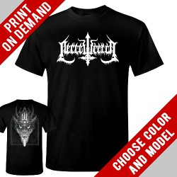 Necrowretch - Beast White - Print on demand