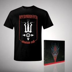 Necrowretch - Bundle 2 - CD DIGIPAK + T-shirt bundle (Men)