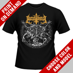Necrowretch - Satanic Slavery - Print on demand