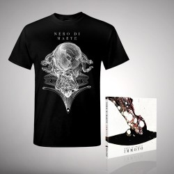 Nero Di Marte - Immoto - CD DIGIPAK + T-shirt bundle (Men)
