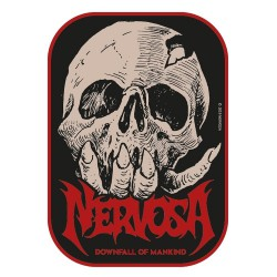 Nervosa - Downfall Of Mankind - EMBROIDERED PATCH