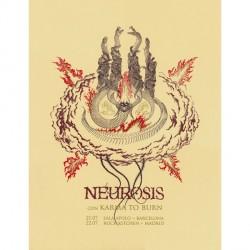 Neurosis - Neurosis Con Karma To Burn - Screen print