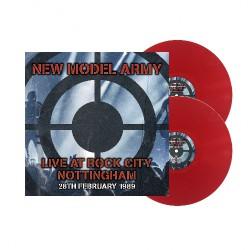 New Model Army - Live At Rock City Nottingham 1989 - DOUBLE LP GATEFOLD COLOURED