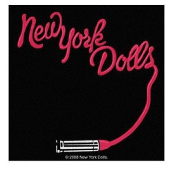 New York Dolls - Lipstick Logo - Patch