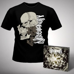 Nightmarer - Cacophony Of Terror - CD DIGIPAK + T-shirt bundle (Men)