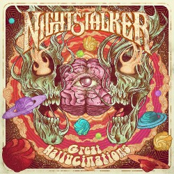 Nightstalker - Great Hallucinations - LP Gatefold