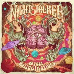 Nightstalker - Great Hallucinations - LP COLOURED