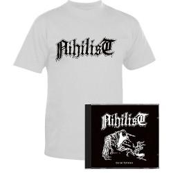 Nihilist - Carnal Leftovers - CD + T-shirt bundle (Men)