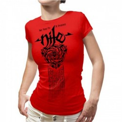 Nile - Scarab Mummy Ladies (Red) - T-shirt (Women)