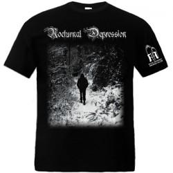 Nocturnal Depression - Four Seasons To A Depression - T-shirt (Men)