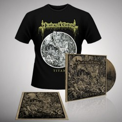 Nocturnal Graves - Bundle 5 - LP gatefold coloured + silk screen + T-shirt bundle (Men)