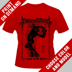 Nocturnal Graves - Roar Of The Wild [red] - Print on demand