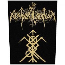 Nokturnal Mortum - New Logo - BACKPATCH