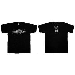 Nokturnal Mortum - Silver Logo - T-shirt (Men)