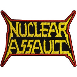 Nuclear Assault - Logo - EMBROIDERED PATCH